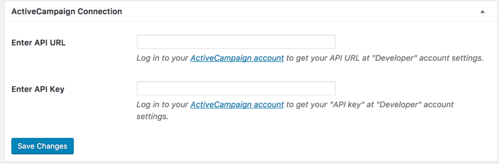 How to Connect MailOptin With ActiveCampaign - MailOptin