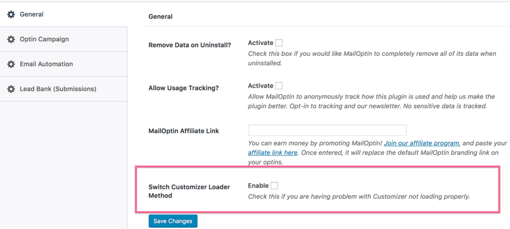 Fixing Customizer The Form Email Template Builder Not Loading