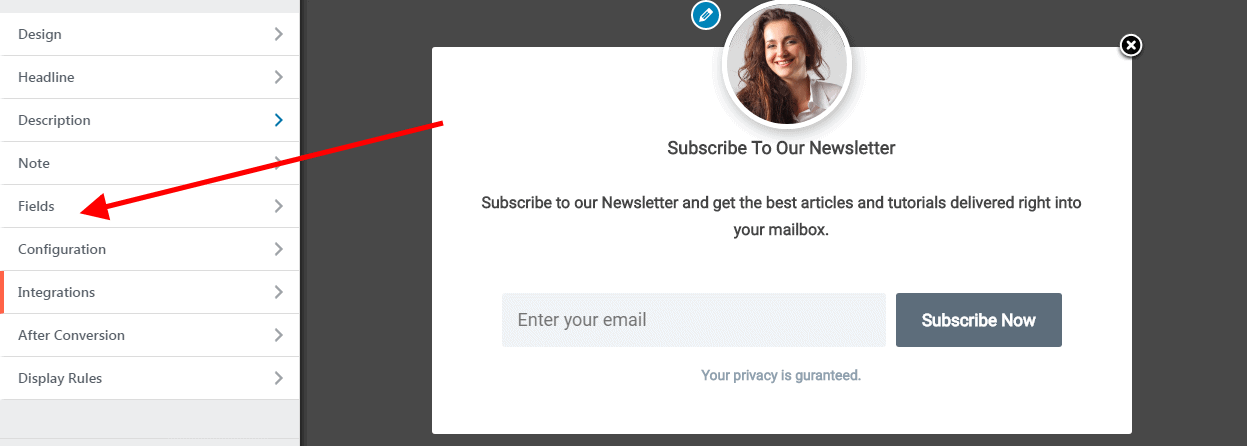 How to Display Ninja Forms in a Popup in WordPress - MailOptin